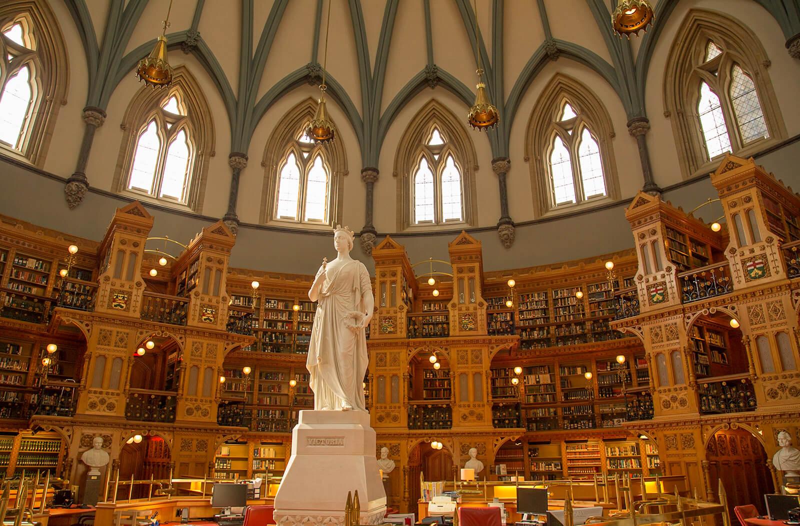 Library of Parliament Ottawa Canada