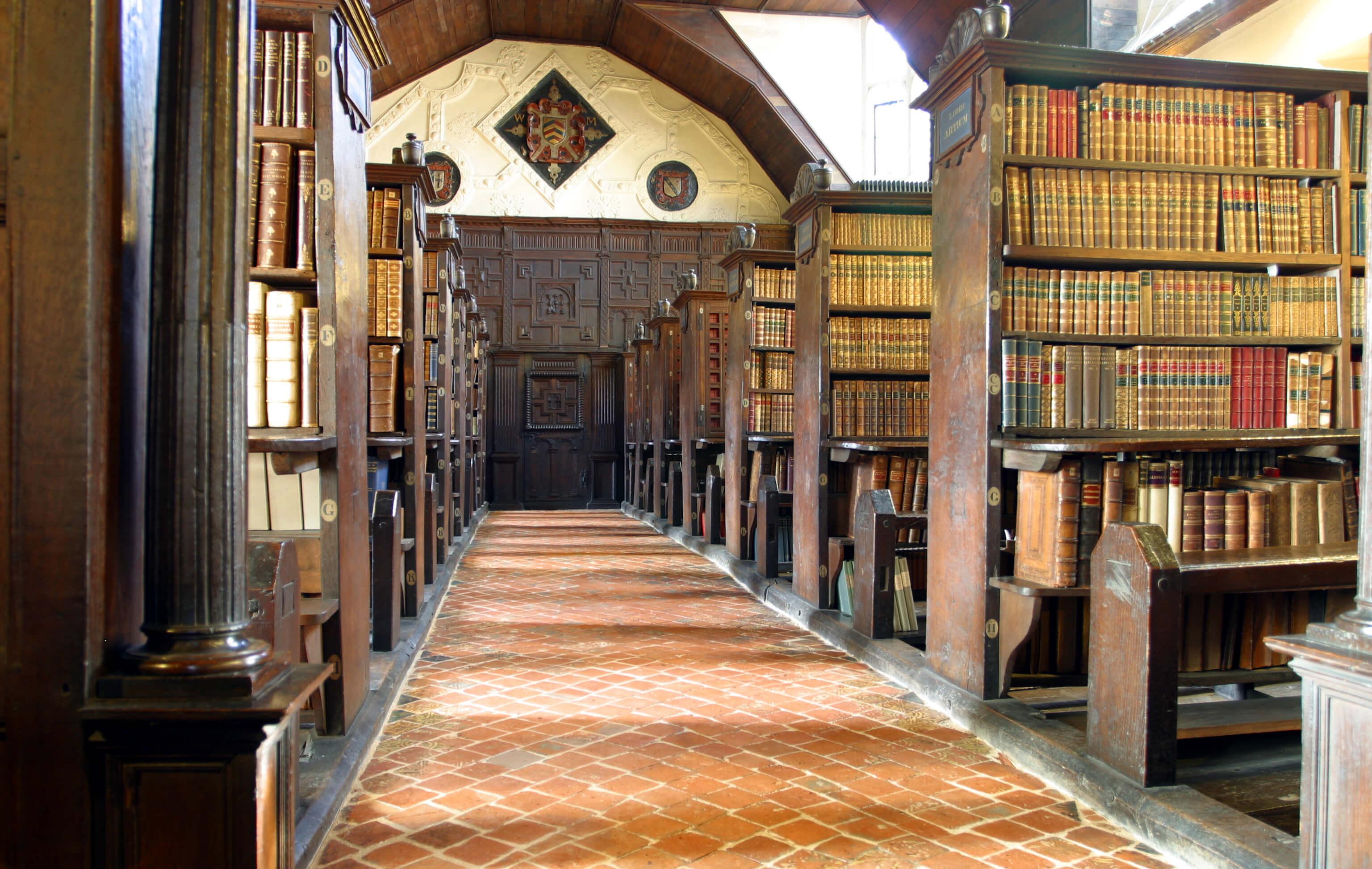 Merton College Library