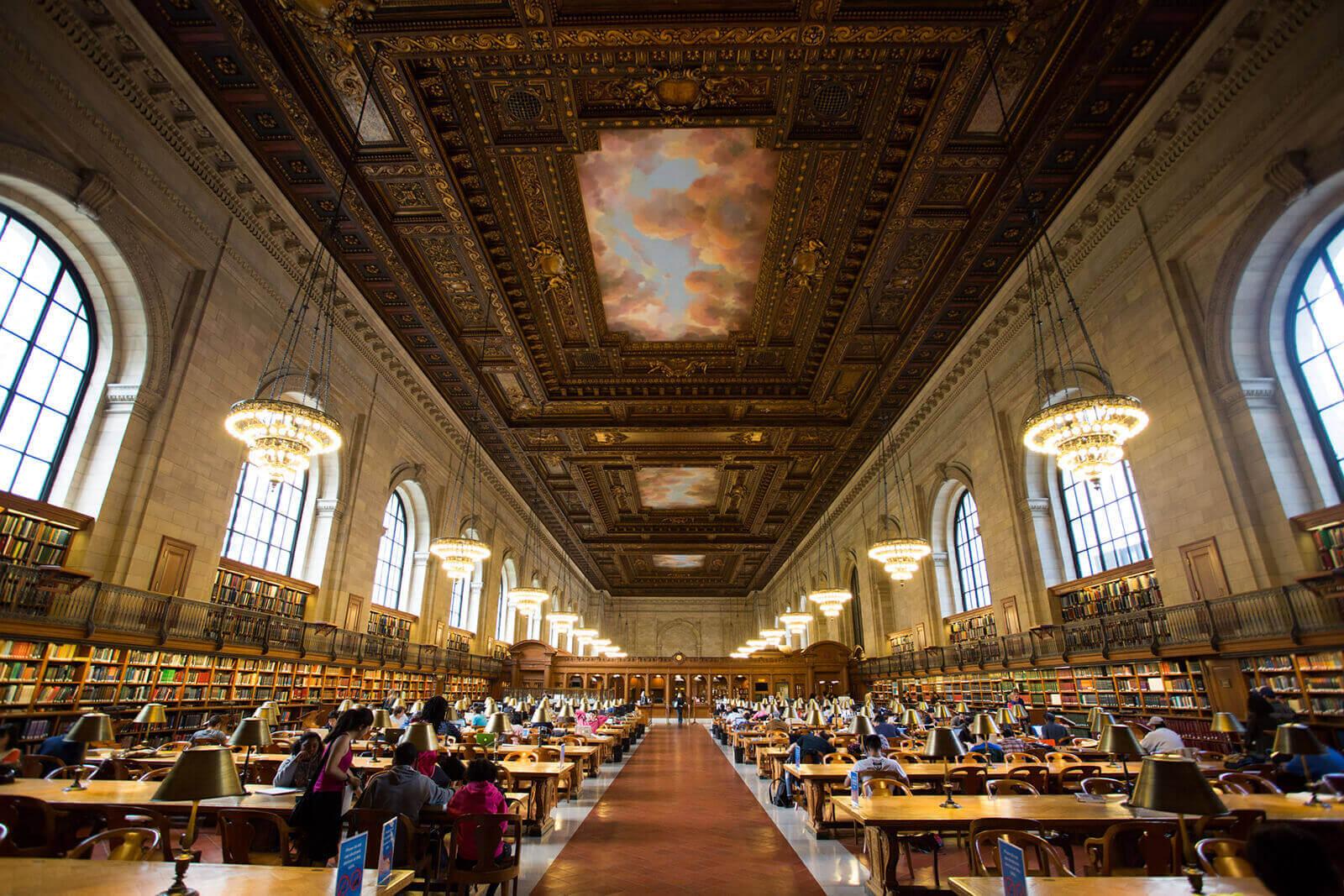 New York Public Library New York City NJ