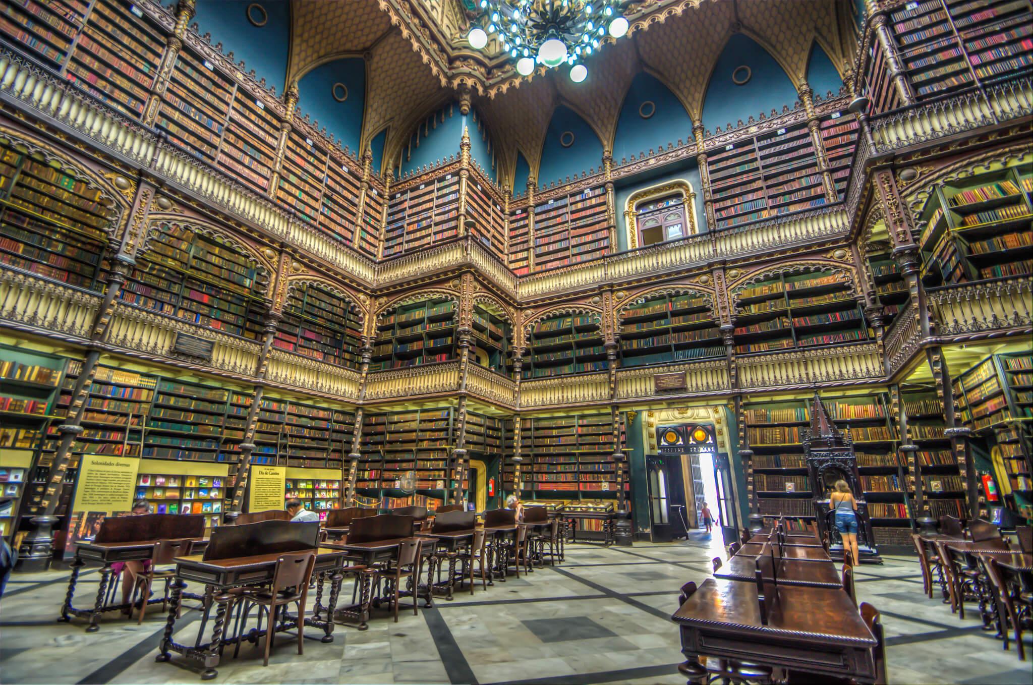 Royal Portuguese Reading Room Rio de Janeiro Brazil