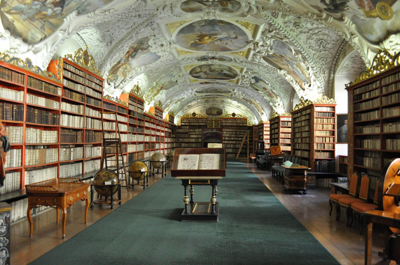 Strahov Monastery Theological Library Prague Czech Republic