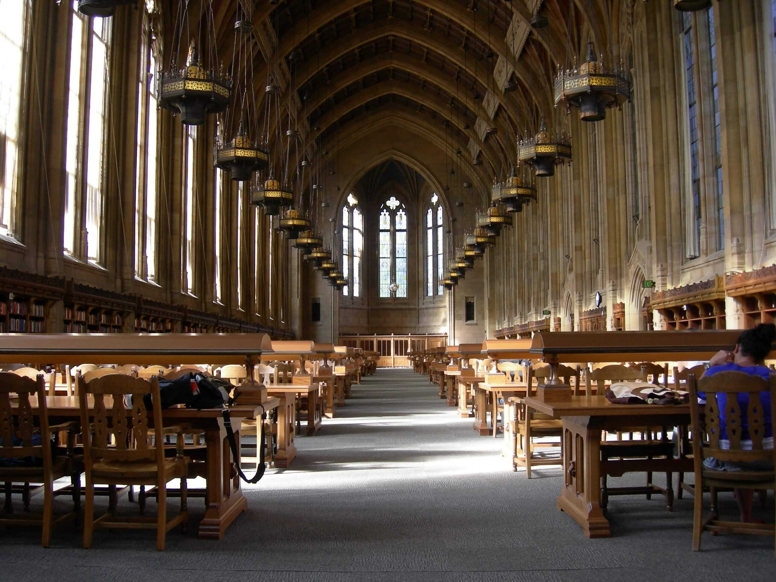 Suzzallo Library's Graduate Reading Room