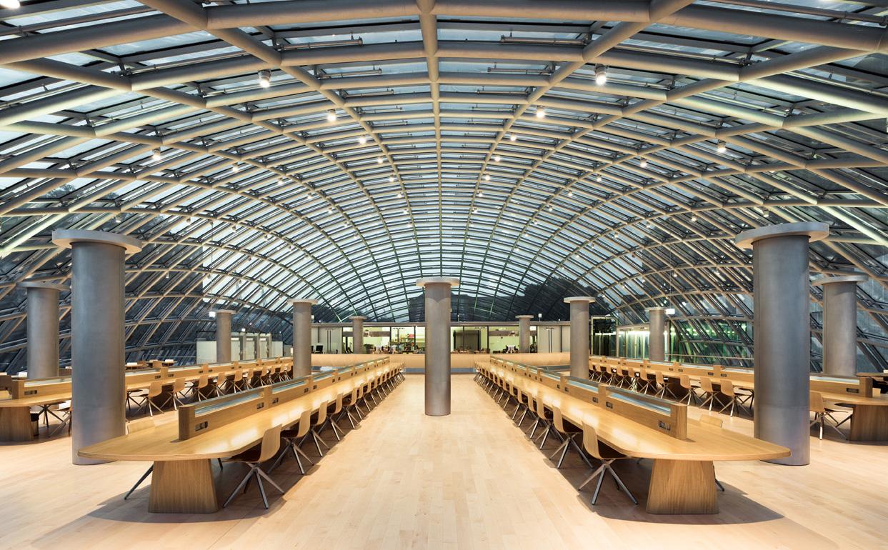 The Joe & Rika Mansueto Library, University of Chicago