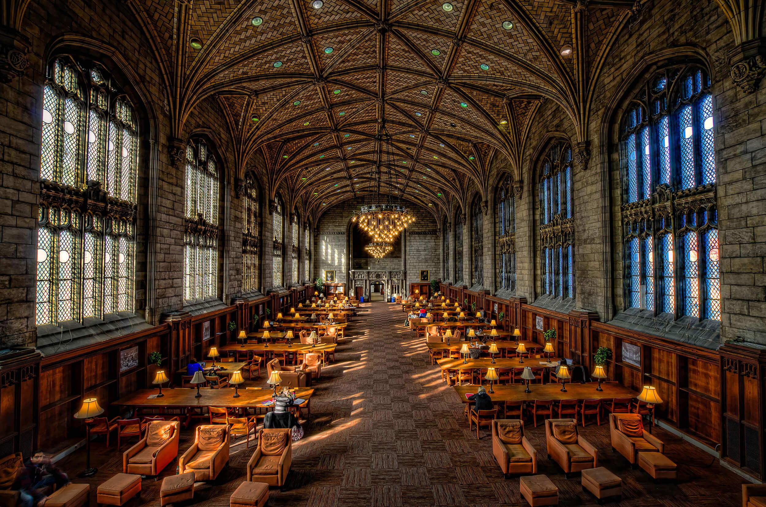 University of Chicago Harper Library
