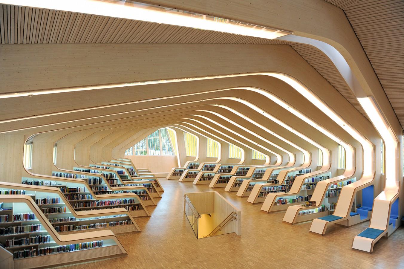 Vennesla Library and Culture House Vennesla Norway