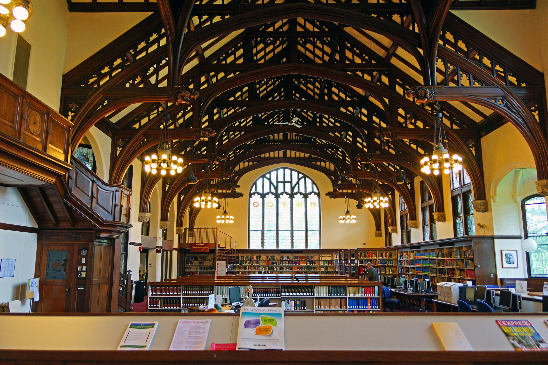 Williston Memorial Library, Mount Holyoke College