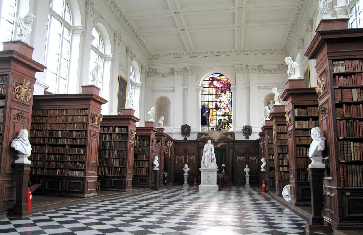 Wren Library Trinity College Cambridge University Cambridge UK