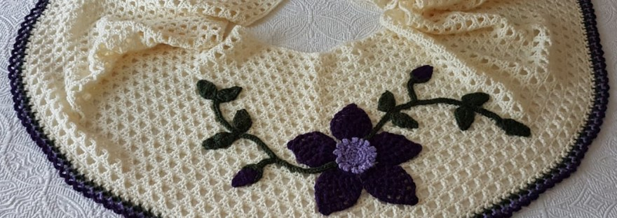 New Pattern And Crocheted Edge For Last Weeks Freebie Iris Rose