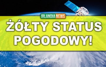 Met Eireann ogłosił żółty alarm pogodowy dla kilkunastu hrabstw!