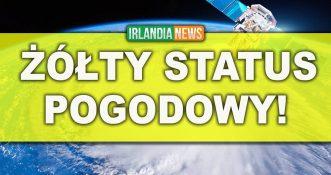 Żółty status pogodowy dla całej Irlandii!