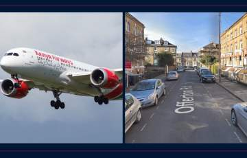 """Pasażer """"na gapę"""" wypadł z samolotu na ogródek domu w Londynie"""