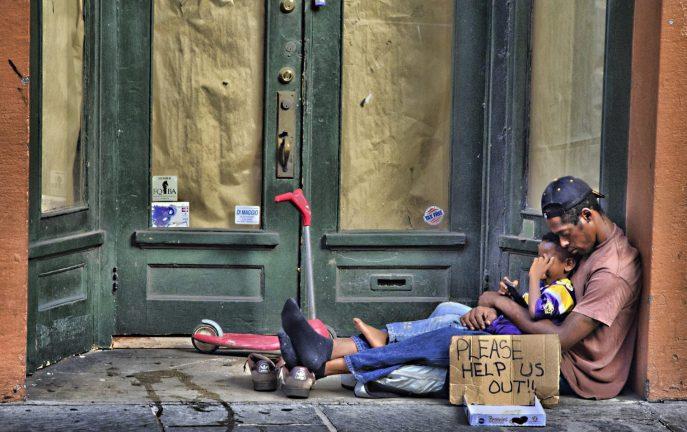Liczba bezdomnych w Irlandii delikatnie spadła