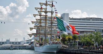 Jeden z największych na świecie żaglowców zawinie do portu w Dublinie