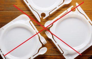 Nowy podatek i zakaz stosowania plastikowych talerzy oraz sztućców