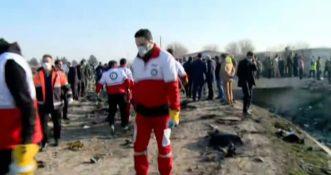 Iran: Katastrofa samolotu należącego do ukraińskich linii lotniczych [WIDEO]