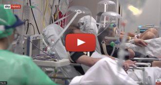 Nowy reportaż Sky News, przedstawiający sytuację we włoskich szpitalach! [WIDEO]