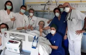95-letnia kobieta pokonała koronawirusa.