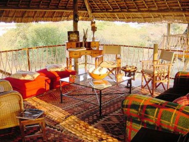 Afrikanisches wohnzimmer
