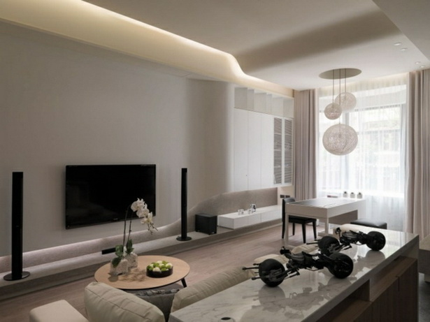 Ideen Wandfarbe Wohnzimmer
