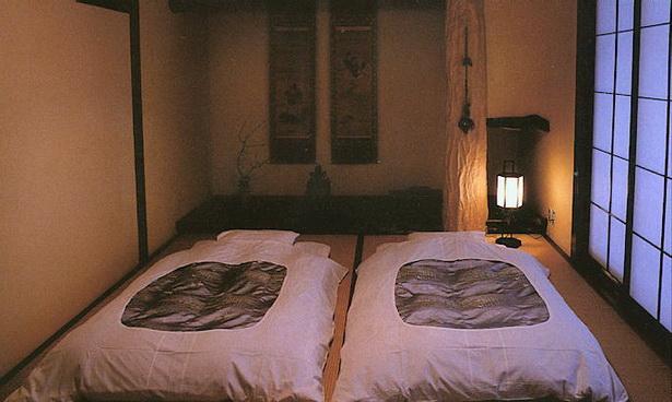 Japanische schlafzimmer