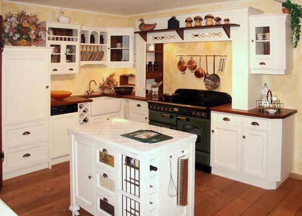 Küche Weiß Landhausstil
