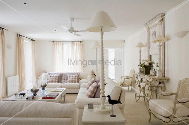 Wohnzimmer Landhausstil Weiß – abomaheber.info