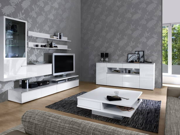 tapete wohnzimmer modern. Black Bedroom Furniture Sets. Home Design Ideas