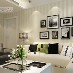 Wallpaper Living Room Wall Interior Designs Rooms Photos Modern Tapeten Wohnzimmer
