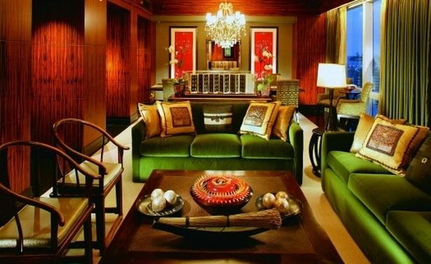 Orientalische wohnzimmer