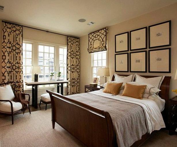 Schlafzimmer gardinen
