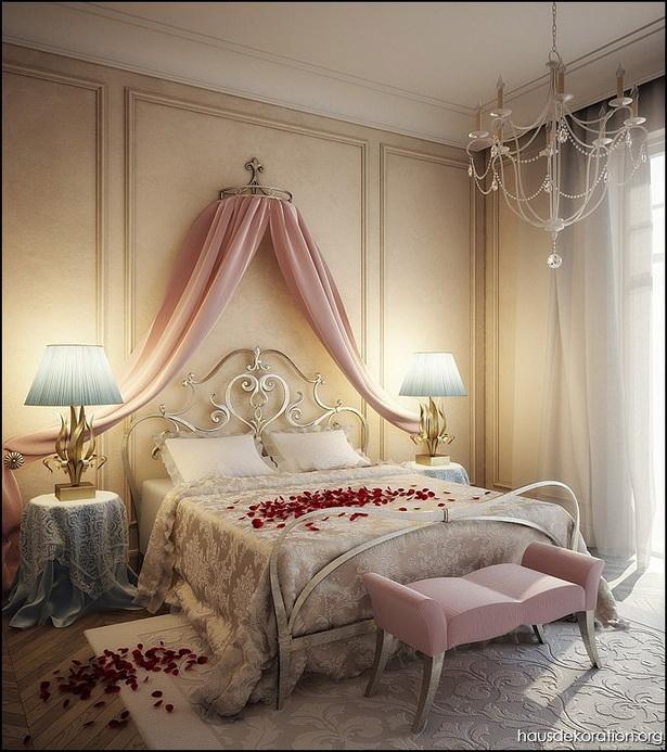 schlafzimmer gestalten romantisch  schlafzimmer
