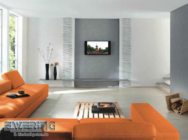 Tapetengestaltung fr wohnzimmer