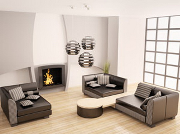 Wanddeko wohnzimmer ideen