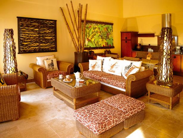 Wohnideen afrika style