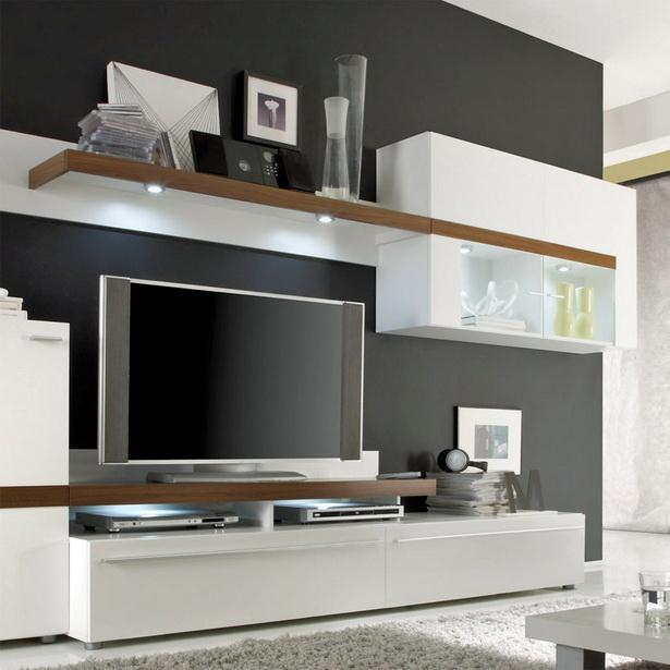 Wohnzimmer Anbauwand Modern