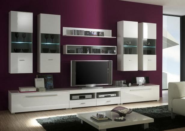 Wandfarben Beispiele Wohnzimmer Modern Mit Grauen Wandfarben ...
