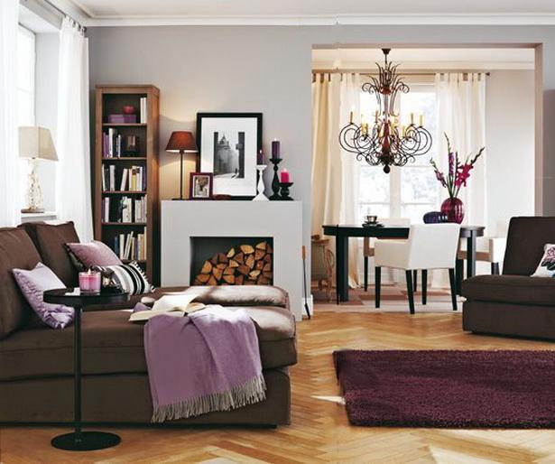 Wohnzimmer Farbkonzept Trendy Das Offene Esszimmer Grenzt