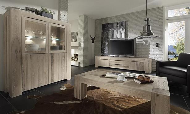 Wohnzimmer Eiche Massiv Modern