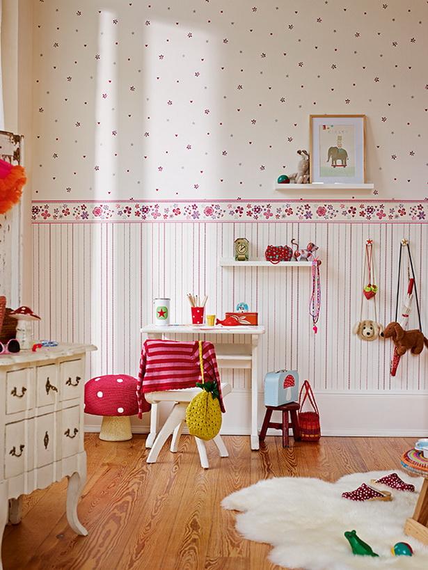 Baby Girl Owl Wallpaper Kinderzimmer Tapete Ideen