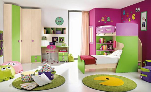 Kinderzimmermbel bunt