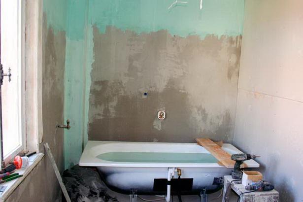 Renovierung bad