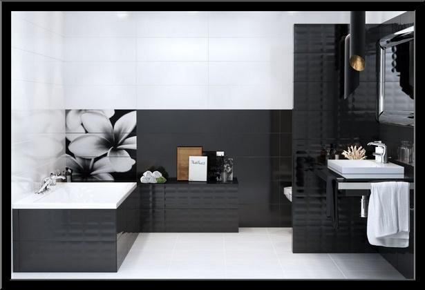 Badezimmer wei anthrazit