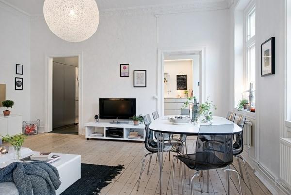 Kleines Wohnzimmer Mit Esstisch Einrichten