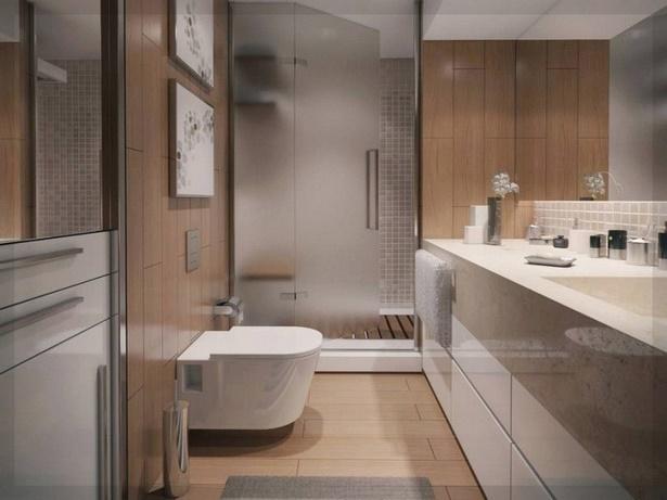 Moderne kleine badezimmer mit dusche
