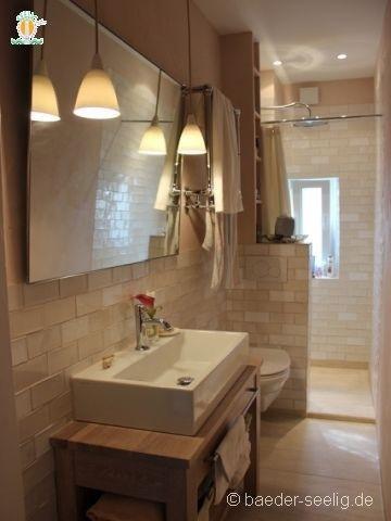 Schmale badezimmer gestalten