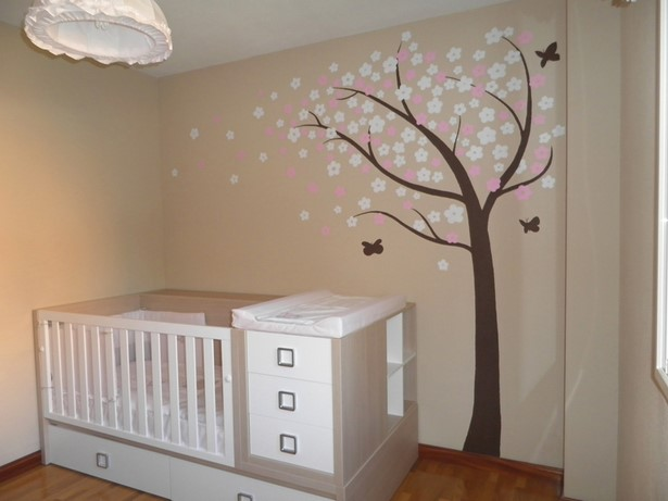 Babyzimmer wandgestaltung mdchen