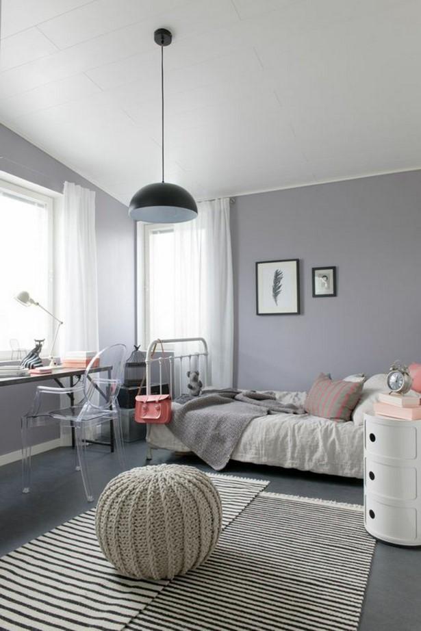 Wandgestaltung Jugendzimmer Dachschräge Schlafzimmer Dachgeschoss