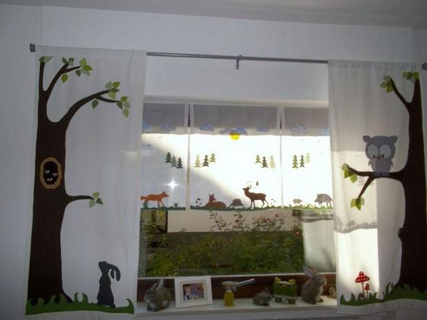 Kinderzimmer deko wald