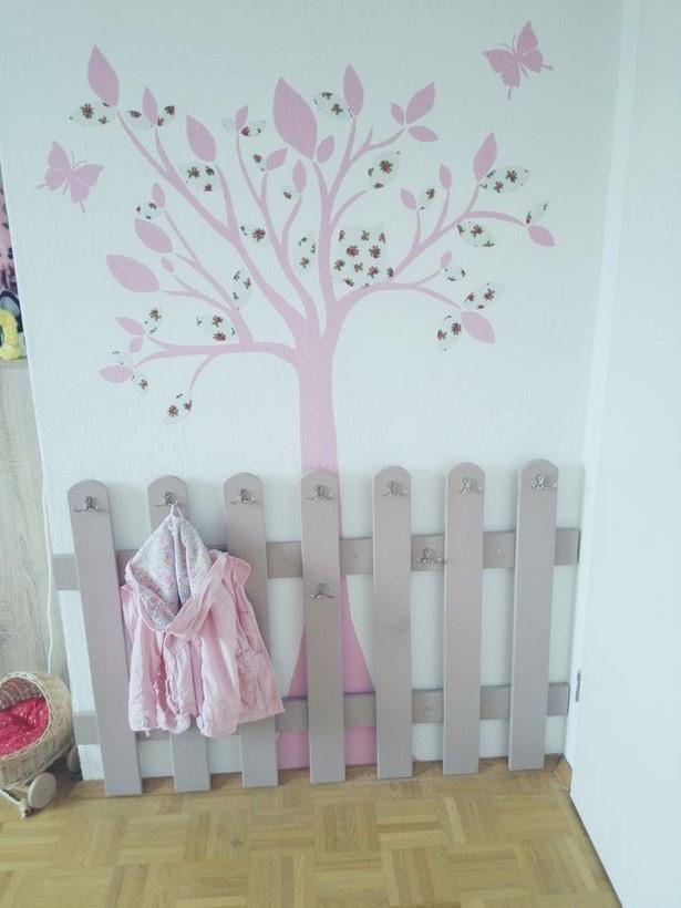 Wandgestaltung babyzimmer mdchen