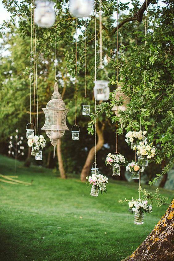 Gartenparty deko ideen